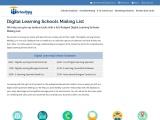Digital Learning Schools Mailing List | Verified Data