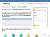 Illinois School Superintendents List | Verified Contact Data
