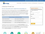 Librarian Mailing List | Email List of Librarians