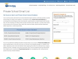 Private School Mailing List | School Email Address List