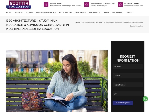 BSc Architecture – Study in UK