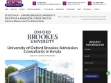 University of Oxford Brookes Admission Consultants in Kerala