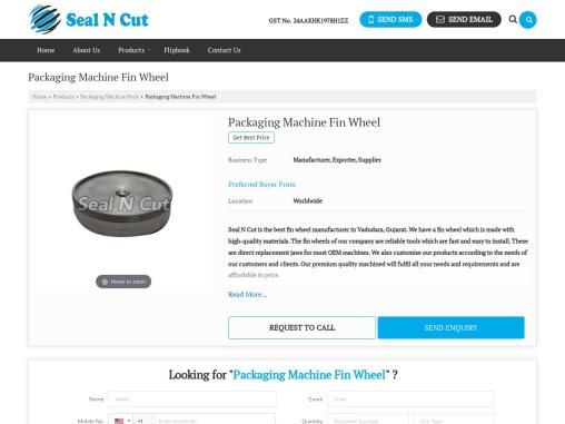 Fin Wheel Manufacturer in Vadodara