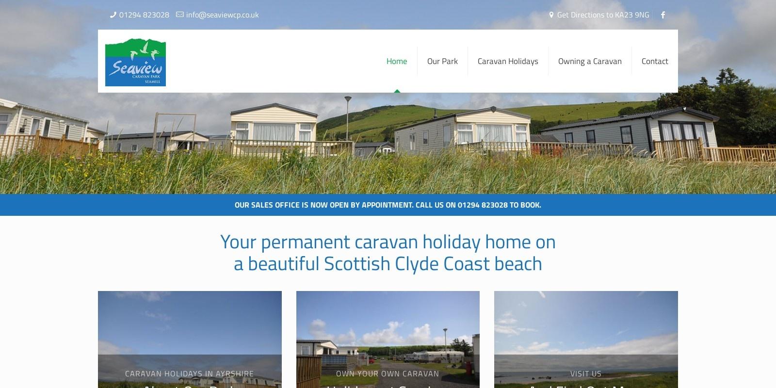 Preview of https://www.seaviewcp.co.uk