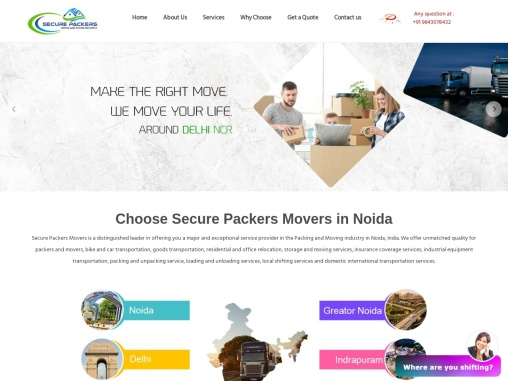Take Advantages of Premium Packers and Movers Services in Noida