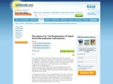 Provisions For The Registration Of Stand-Alone Bioanalytical Laboratories