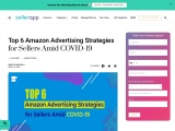 Top 6 Amazon Advertising Strategies for Sellers Amid COVID-19