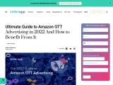 Amazon OTT Advertising – Everything You Need to Know in 2021