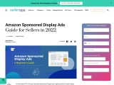Amazon Sponsored Product Display Ads