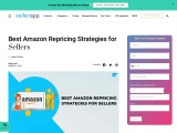 amazon repricing strategies for sellers