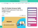 amazon seller central phone number