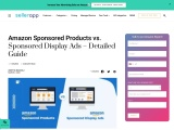 Amazon sponsored products vs product ads