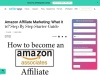 How to become an Amazon affiliate: Step-by-step guide