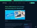 Does USPS Deliver on Weekends