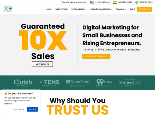Affordable Digital Marketing Company in India   SEO Discovery