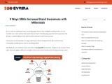 9 Ways SMEs Increase Brand Awareness with Millennials   SEO Evrima