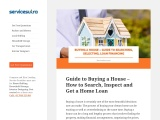 Buying a House – Guide to Searching, Selecting, Loan Financing