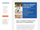 How to Organize Storage Units like a Pro: 17 Essential Tips