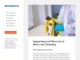 Importance of Move in or Move out Cleaning