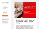 How to Pack a Messy House in 5 Easy Steps to Move Things Safely