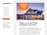 Things to Consider When Designing a New House