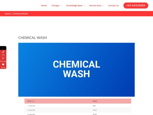 Cheap Aircon Chemical Wash and Cleaning Service Singapore | Servicing Aircon