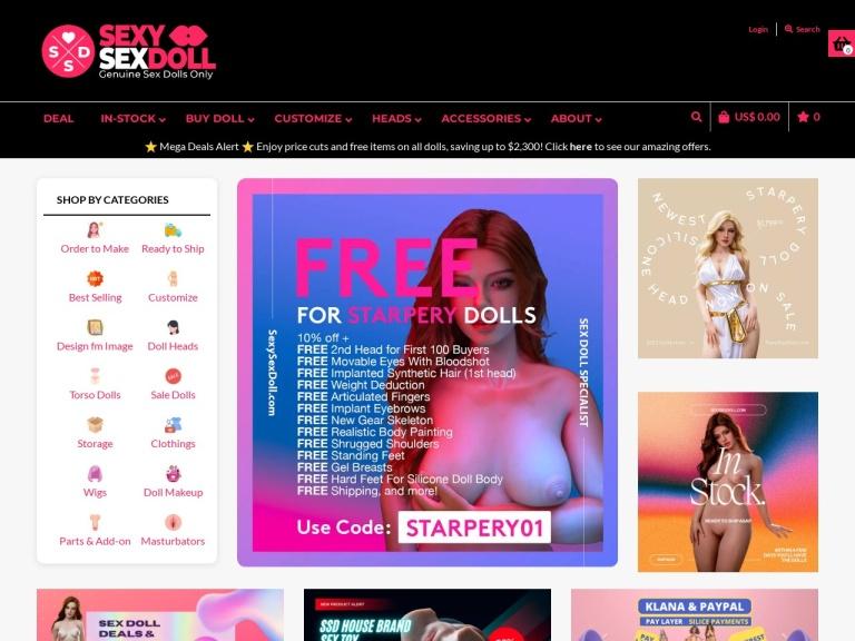 Sexy Sex Doll screenshot