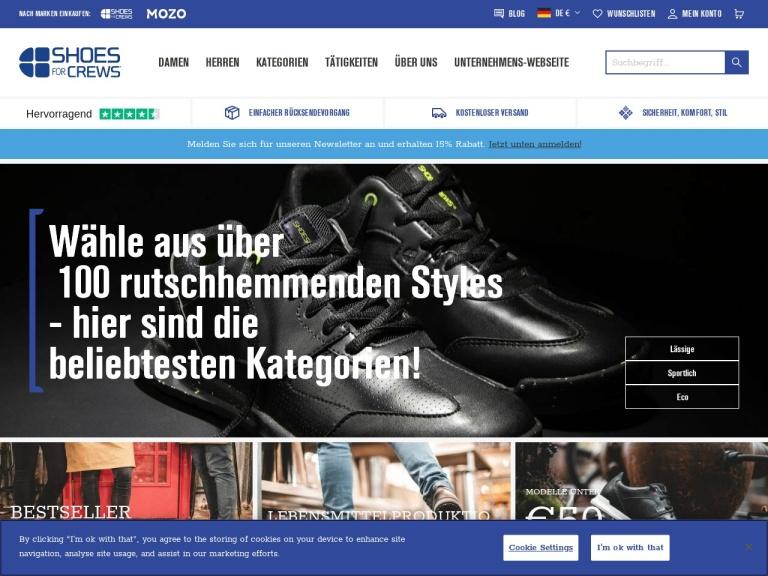 Shoes for Crews DE screenshot