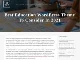 Best Education WordPress Theme To Consider In 2021