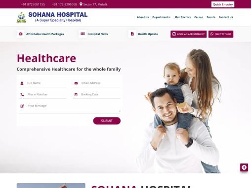 knee Surgeon   Sohana Hospital