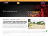 MS Dhoni Academy Nagpur India | Top Residential Cricket  Coaching Academy – SGR