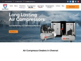 Air Compressor Dealers in Chennai – 100% Oil Free Compressor