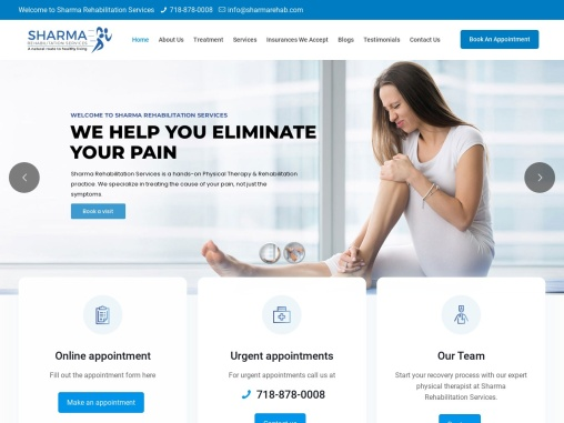 Physical Therapist in Queens | Sharma Rehabilitation Services