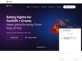 Anti Collision System for Forklift UAE | Sharpeagle