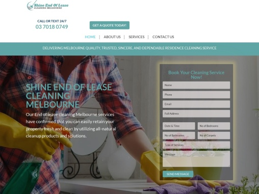 End of Lease Cleaning Melbourne Services
