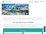Abu Dhabi Cargo with Door to Door Services