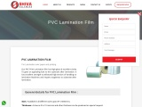 Best PVC Lamination Films in India