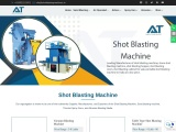 Shot blasting machine manufacturer's | Portable shot blasting  equipment price in India for sale