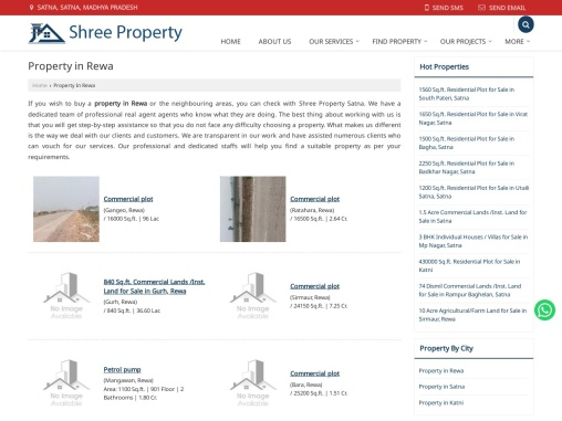 Residential Property in Rewa For Sale