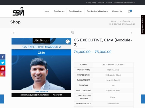 CMA online video lecture | CMA online learning | Best CMA exam training online video