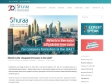Cheapest Free Zone License in the UAE