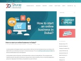 How To Start eCommerce Business In Dubai?