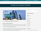 Business setup cost in Abu Dhabi | Easy Step-by-step