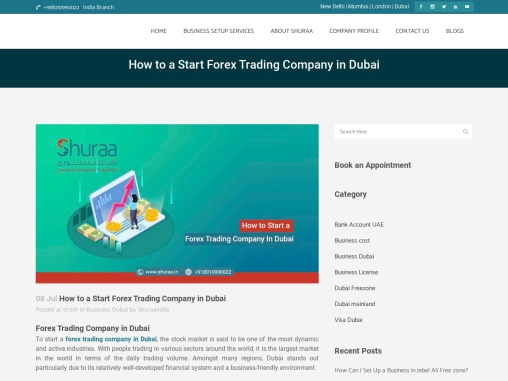 How to a Forex Trading Company in Dubai