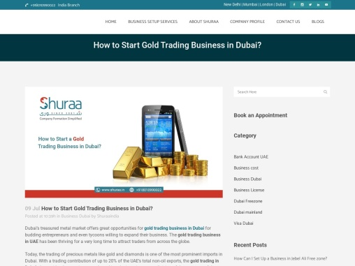 How to Start Gold Trading Business in Dubai?