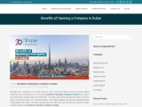 Benefits of Opening a Company in Dubai