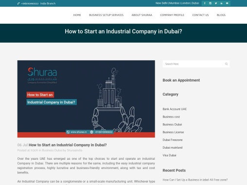 How to Start an Industrial Company in Dubai