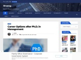 What is the scope of pursuing PhD in Management in future?