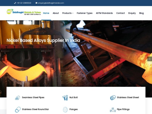 Nickel Based Alloys Supplier and Stockist In India