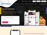 App like DoorDash | UberEats | Grubhub – Food delivery app